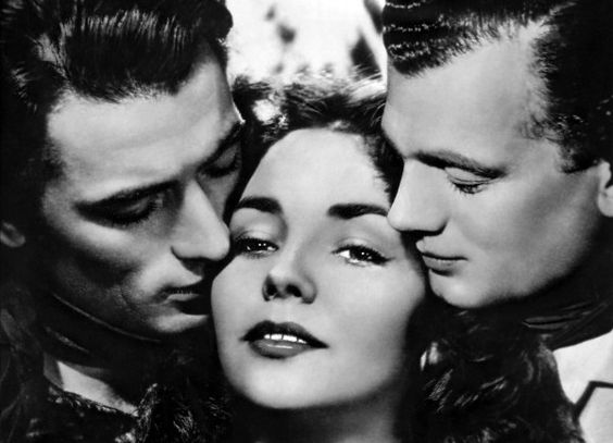 (Duel in the Sun), Gregory Peck, Jennifer Jones, Joseph Cotten