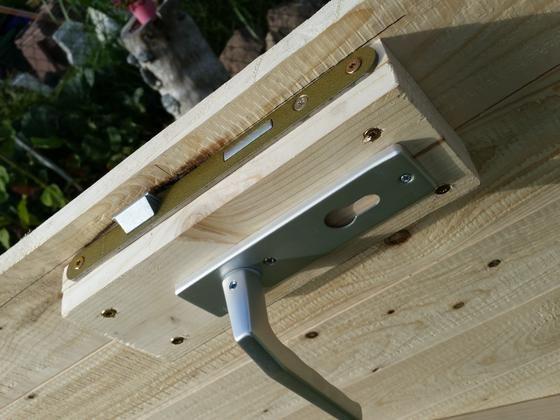 Holztur Mit Rahmen Fur S Stallgebaude Bauanleitung Zum Selber