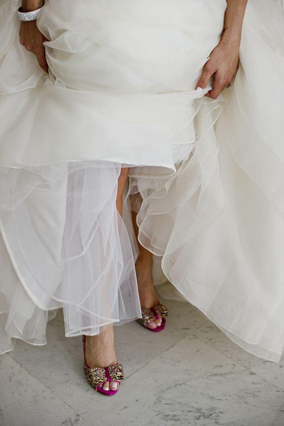 Inspiration: Bridal Shoes | WeddingLight Events - Elope to Paris