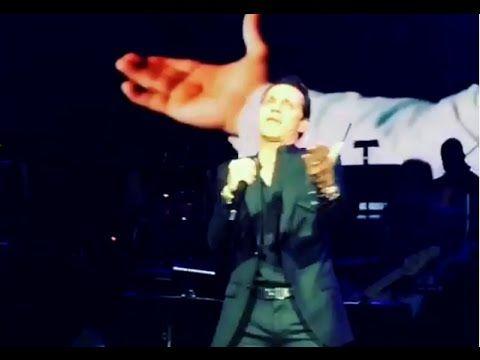 Marc Anthony rompe en llanto en pleno concierto al recordar a Juan Gabriel