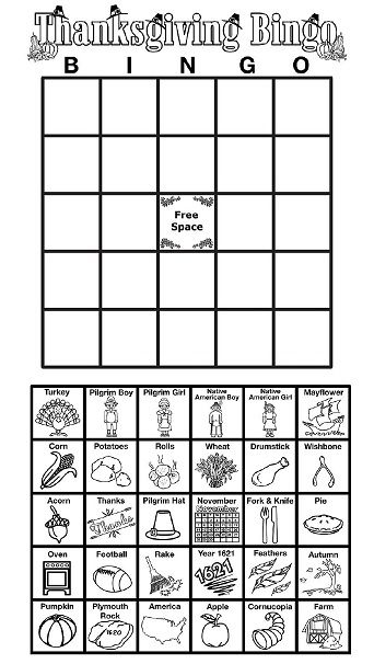 play class worksheet play thanksgiving bingo with your class students can cut 480