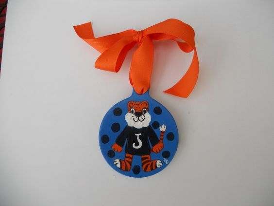 Auburn Tigers- This one I added an initial.