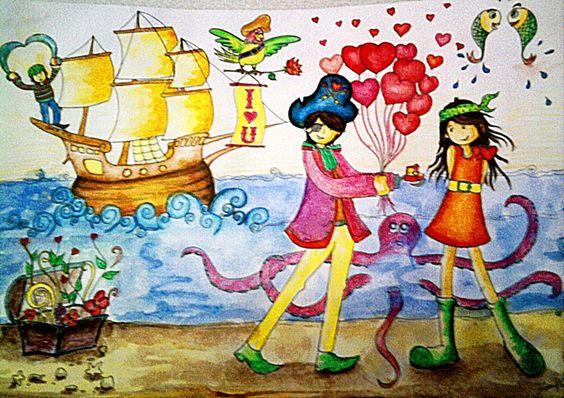 #pirates #love