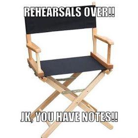 Fronkensteen Lounge: Theatre Humor! My Best Theatre Jokes
