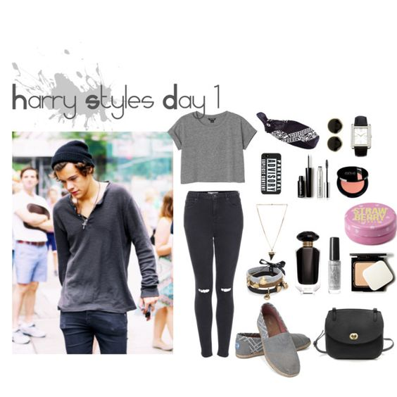 """Harry Styles Day 1"" by niallpizzalina on Polyvore"