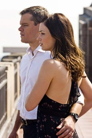 Matt Damon junto a Emily Blunt en la película: EL destino oculto