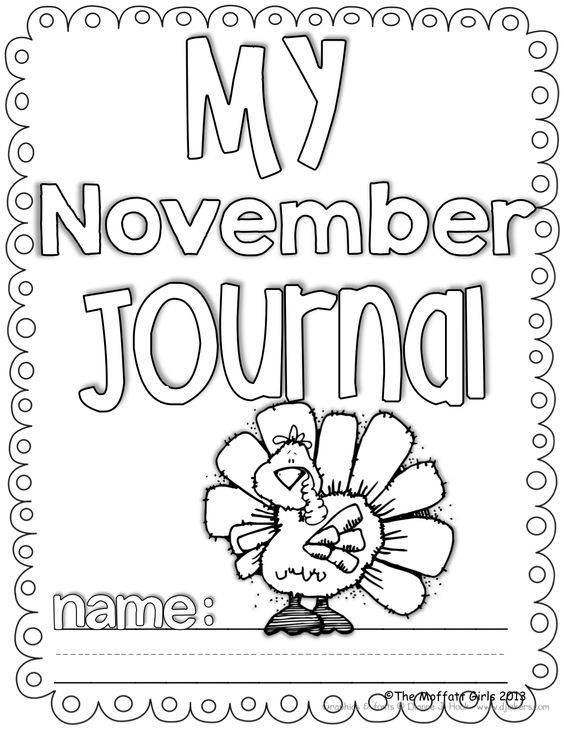 Journal prompts for the ENTIRE month of November! Such a