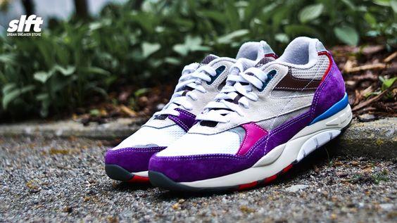 Der Reebok X Garbstore Ventilator Supreme ''Extreme Purple''.  #reebok #garbstore #ventilator #supreme #extrem #purple #sneaker #soulfoot #slft