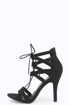 Alice Cage Ghillie Heels at boohoo.com
