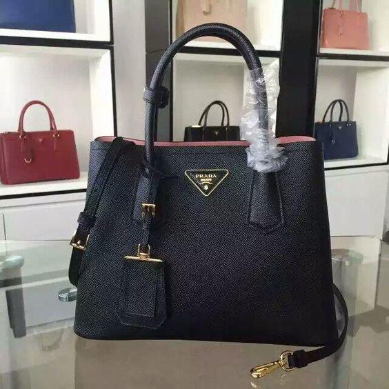 fake prada bn2324 bright leather brown tote bag