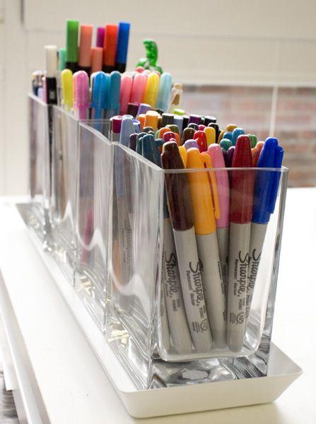 marker/pen storage