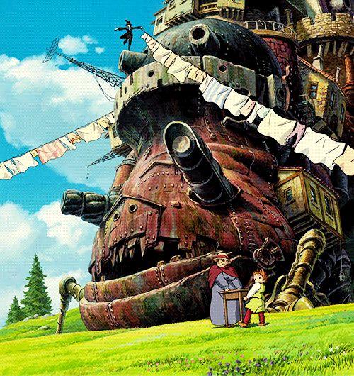 Hayoa Myasaki - Animated Gif - Howl's Moving Castle