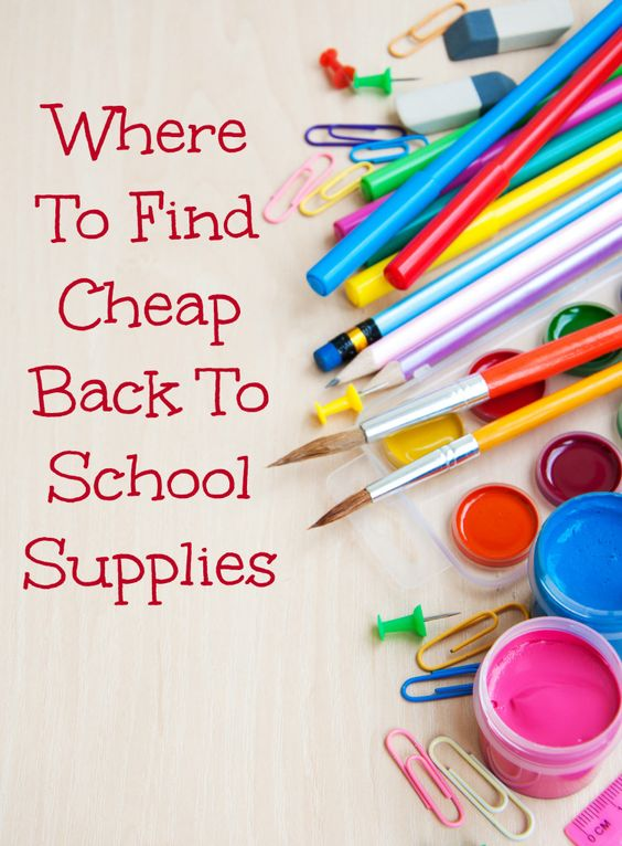 Where To Find Cheap School Supplies: Everyone looks for cheap back to school supplies, but there are a few places you can really look to find the best deal! With back to school shopping, there are many hurdles in sticking to a budget. It can be especially hard, especially during school shopping season, but cheap back to school supplies will make it much easier to do so.