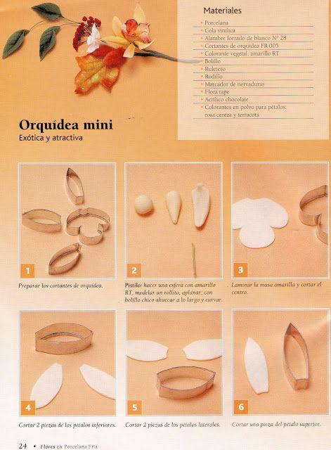 Все Цветы из Фарфора Холодной: Orquideas