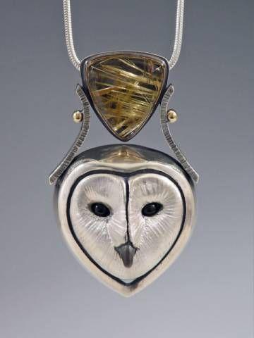 Luv this owl pendant!