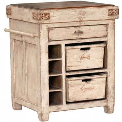 French Country Butcher Block Decorating Is Not A Look