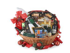 cesta para navidad