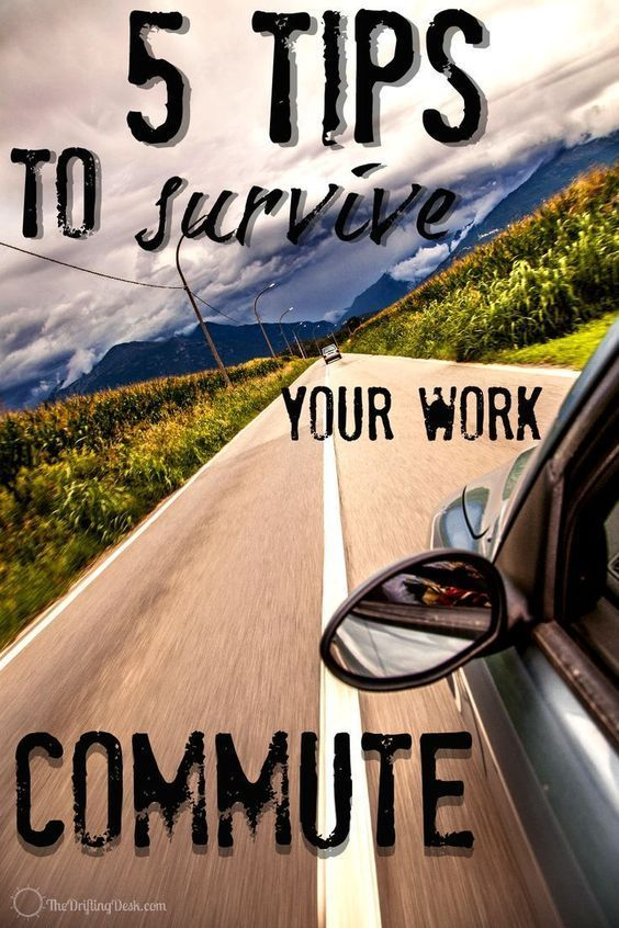 Are you letting your commute get the best of you? These five suggestions for surviving your work commute are essential to making sure you are starting or ending your work day on a good note.