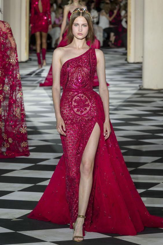 Zuhair Murad autumnwinter 2019 couture collection - HarpersBAZAARUK