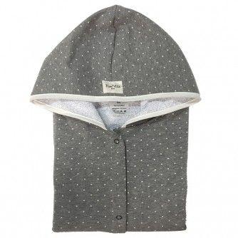 Poncho de toalla Vintage Dot 2-4 años - Fun*das bcn