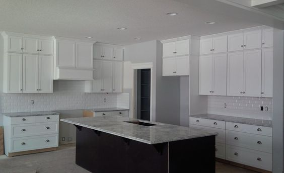 Kitchen cabinets for 9 foot ceilings 9 foot ceilings for Kitchen cabinets for 7 foot ceilings