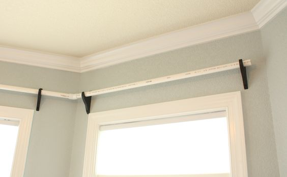 diy curtain rodes using pvc pipes diy home pinterest diy curtains pvc pipe and pipes