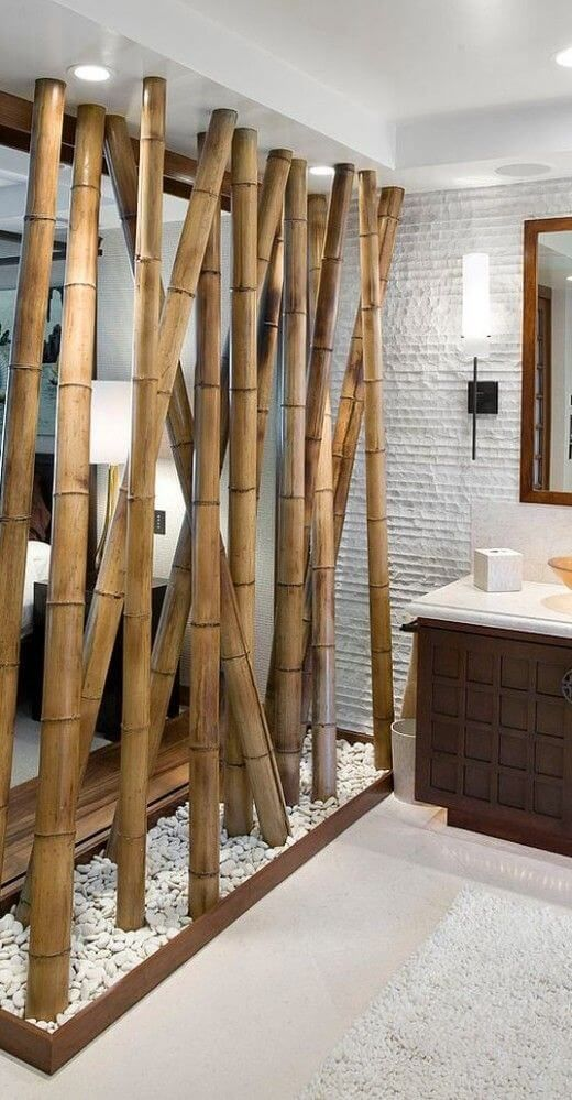 50 Amazing Partition Wall Ideas Engineering Discoveries Bamboo Wall Decor Room Partition Designs Bamboo Wall
