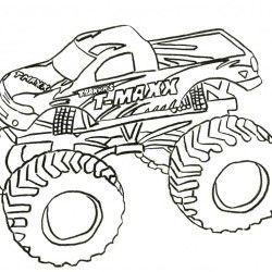 desenho monster truck imprimir 06 andrey do prado monteiro pinterest
