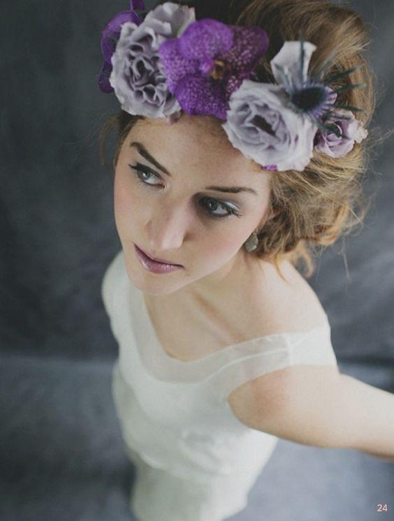 flower crown: Romantic Wedding, Diy Tutorial, Beautiful Flowers, Boho Brides
