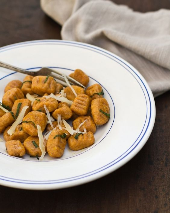 sweet potato gnocchi...yummy!