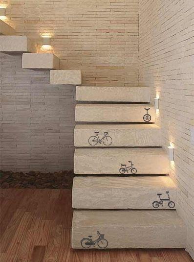 Construindo Minha Casa Clean: Tipos de Escadas! Decoradas e Cheias de Estilo!!!: