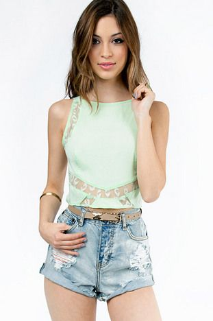 Lacey Love Top $29 at www.tobi.com