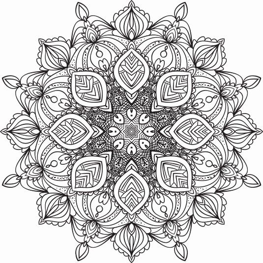 Coloring Book For Me And Mandala Luxury 5 Mandalas To Color Dummies What Is A Mandala Mandala Coloring Mandala Coloring Pages