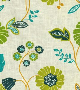 Home Decor Print Fabric-Pkaufmann Vibrant Vines/Cir Dawn