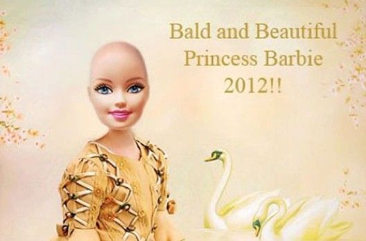 I love this! telling people everywhere that you don't need hair to be Beautiful! #heart warming
