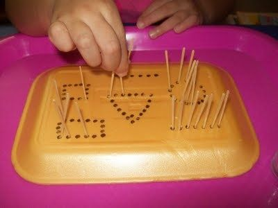 геометрия для детей, мелкая моторика и геометрия вместе