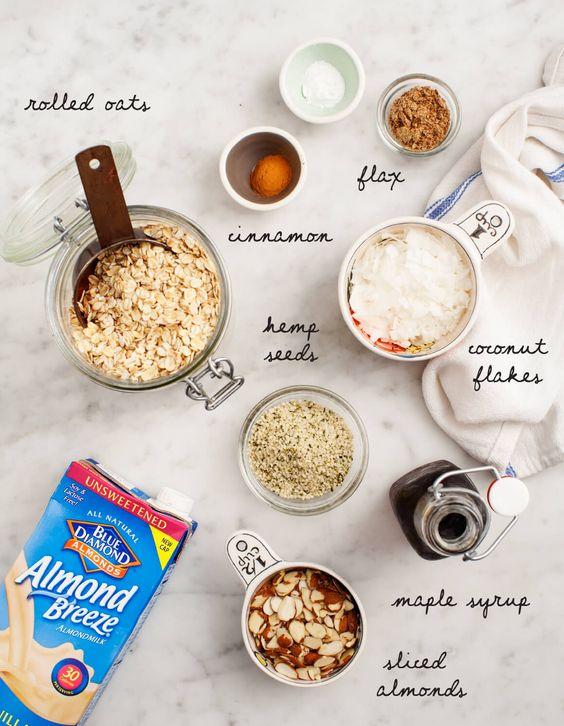 Blueberry Coconut Baked Haferflocken - Eine gesunde Brunch Rezept für Muttertag, dieses gebacken Haferflocken ist vegan und glutenfrei.