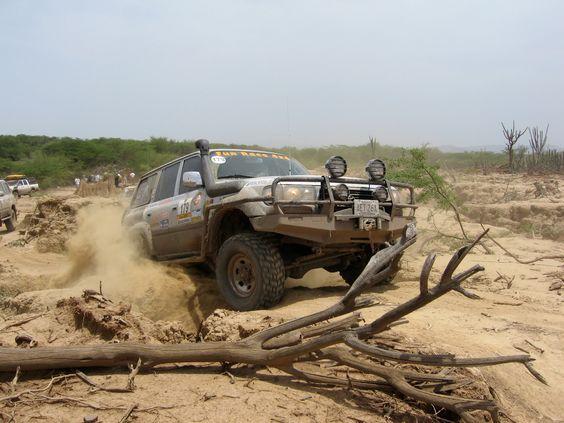 Toyota Land Cruiser 80 Series at Fun Raca 4x4 in Venezuela