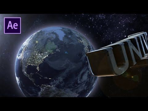 Universal Movie Ident After Effects Tutorial Using Element 3d Youtube Adobe After Effects Tutorials After Effect Tutorial Motion Graphics Tutorial