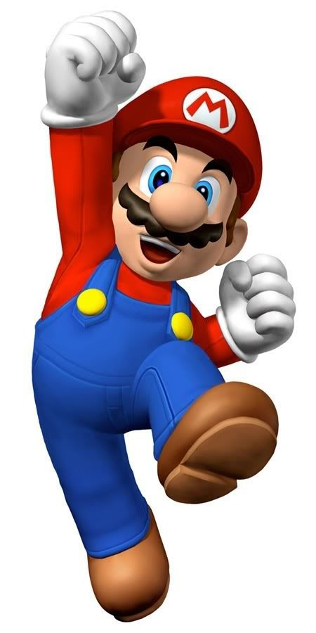 Clipart personagens Mario: