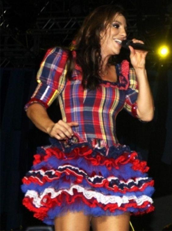 vestido caipiras para festa junina