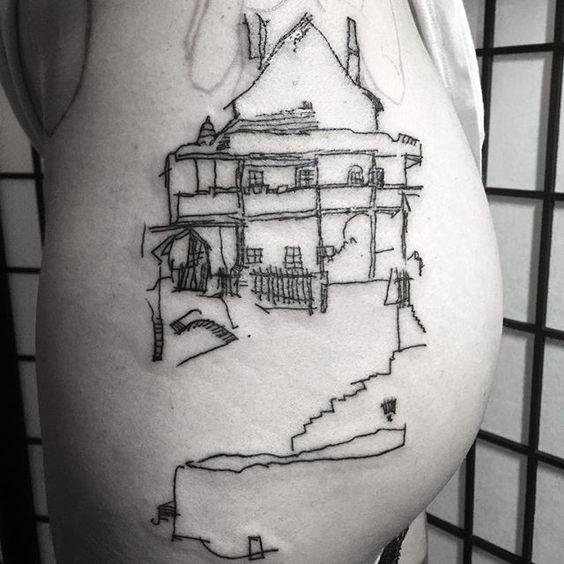 cityscape tattoo - Google Search