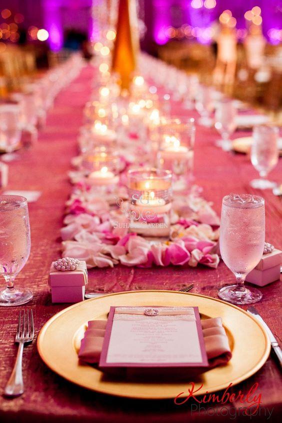 Haseena & Jainal, Pakistani Wedding, Tampa Marriott Waterside & Marina, Suhaag Garden, Florida wedding decorator, Indian wedding decorator, reception table placement