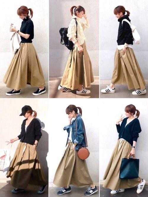 lumie Old Betty Sのスカートを使ったコーディネート Wear フェスファッション レディース ファッション レディース ファッションスタイル