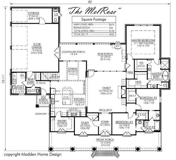 Pinterest the world s catalog of ideas for Madden house plans