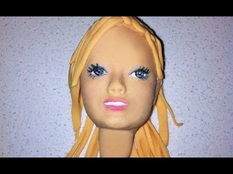 how to make a face with fondant 3D How To Cook That face ann reardon - YouTube