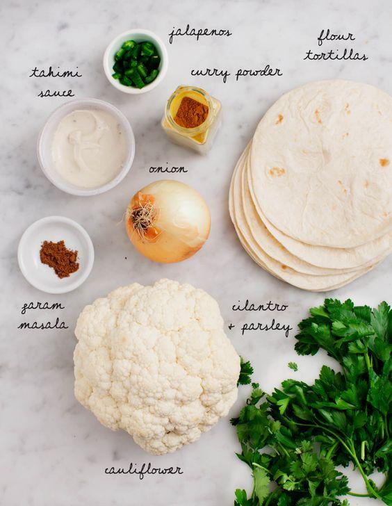 Molly's Cauliflower Shawarma Tacos | Love and Lemons