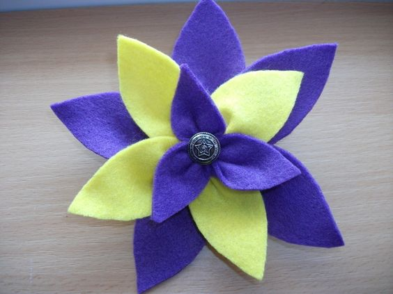 Felt Flower Version