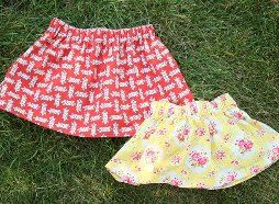 gathered skirt for babies