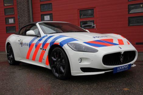 New Police car?